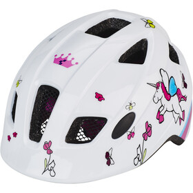 Cube Pebble Helmet Kids white cubie